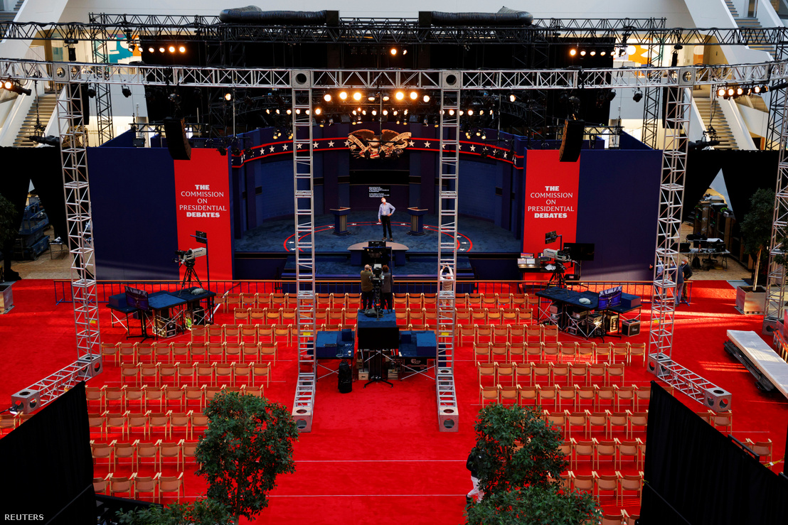 Elnökjelölti vita helyszíne Clevelandben 2020. szeptember 28-án
