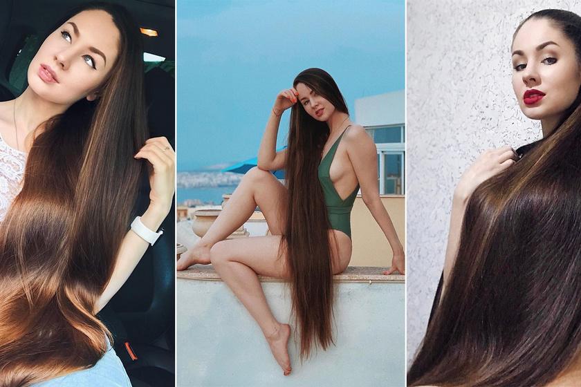 122 centi hosszúságúra növesztette haját a fiatal nő - Gyönyörű, fényes tincseiért a férfiak is rajonganak