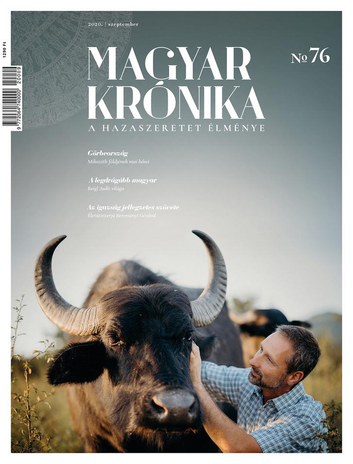 A Magyar Krónika 76. számának borítója (2020. szeptember).