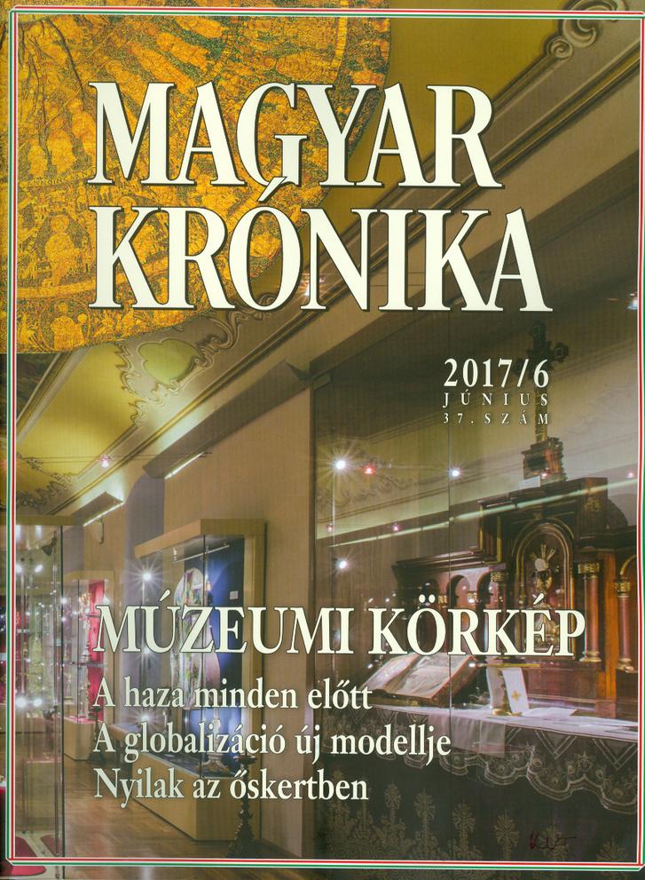 A Magyar Krónika 37. számának borítója (2017. június).