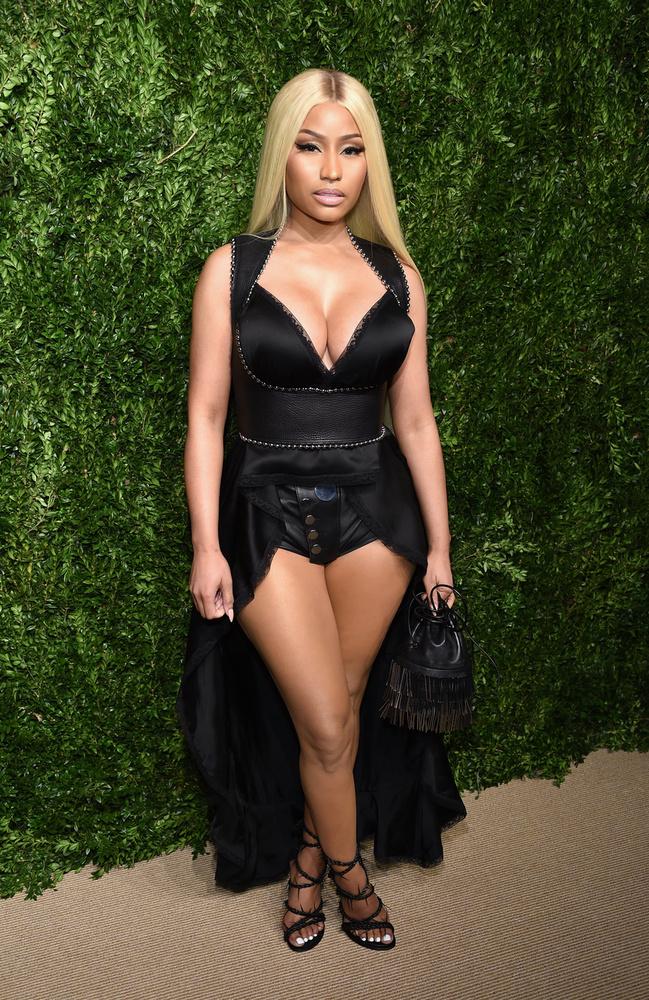 A rapperasszonyság vetélytársa, Nicki Minaj sem sokkal magasabb: ő 157 centiméteres