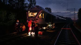 Gázolt a vonat Solymár és Pilisvörösvár között