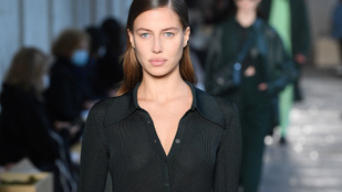 Ikertornyok: Brad Pitt csaja és Irina Shayk egy kifutón vonultak