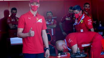 A következő futamon debütál Schumacher fia a Forma–1-ben