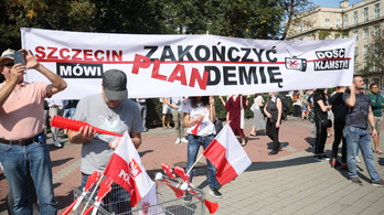 Szigorítanak a lengyel járványügyi intézkedéseken