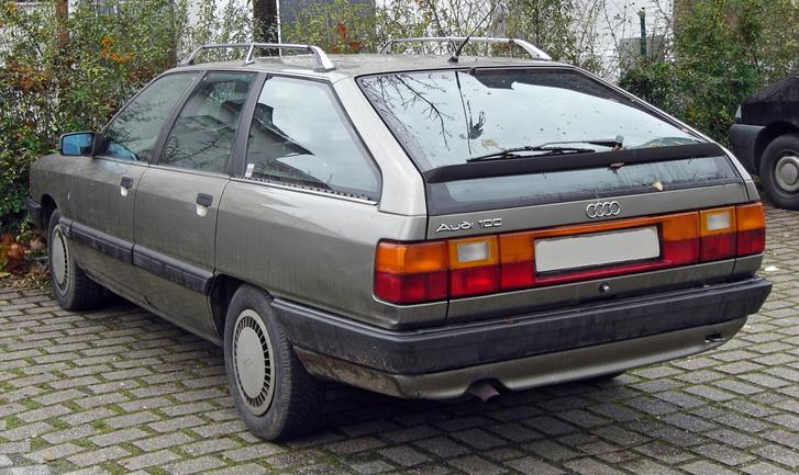 Audi 100 C3 Avant (1982–1990) rear MJ