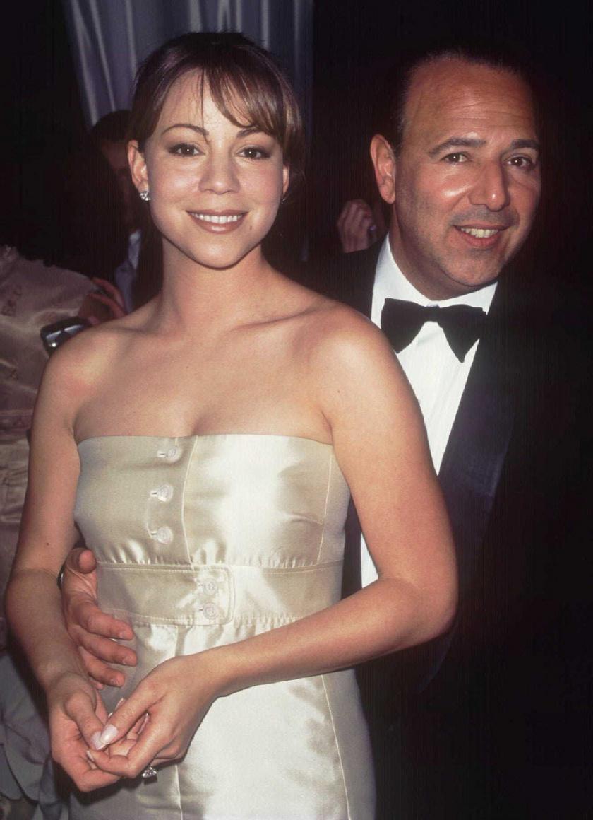 Mariah Carey és volt férje, Tommy Mottola.