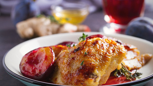 Sült csirke gyömbérrel és narancshéjjal – így lesz különleges fogás egy megszokott alapanyagból