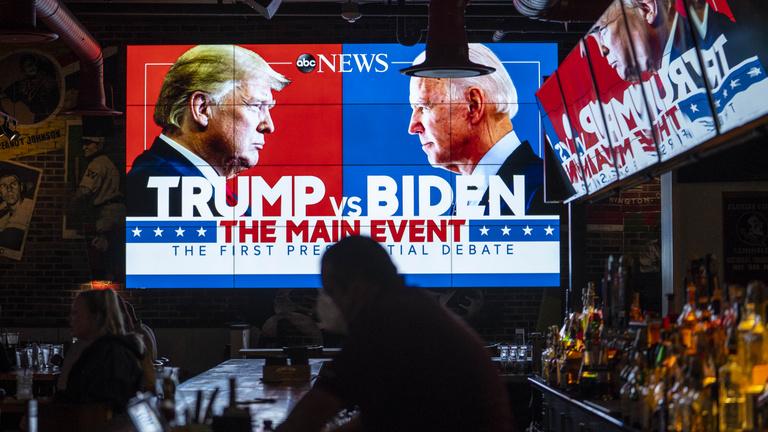 Hogyan értékelik az elnökjelölti vitát az amerikaiak? Helyszíni tudósítás