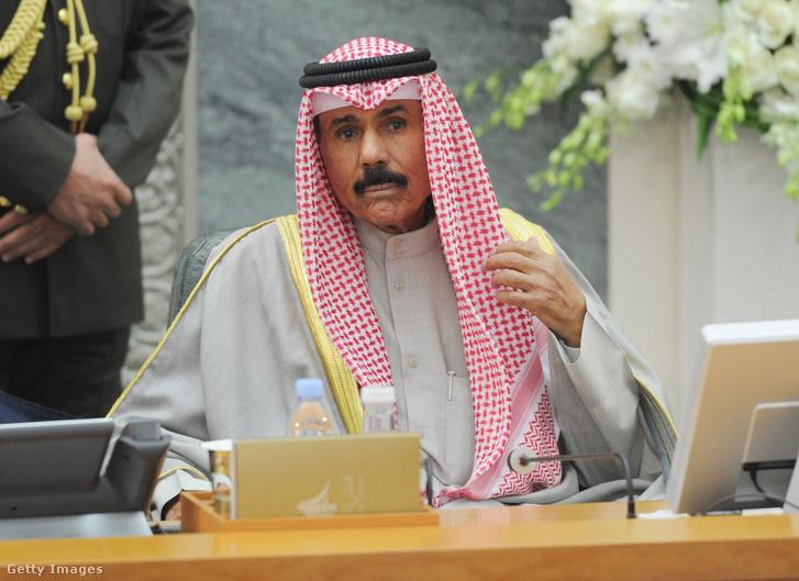 Navaf el-Ahmad el-Dzsábir Ál Szabáh