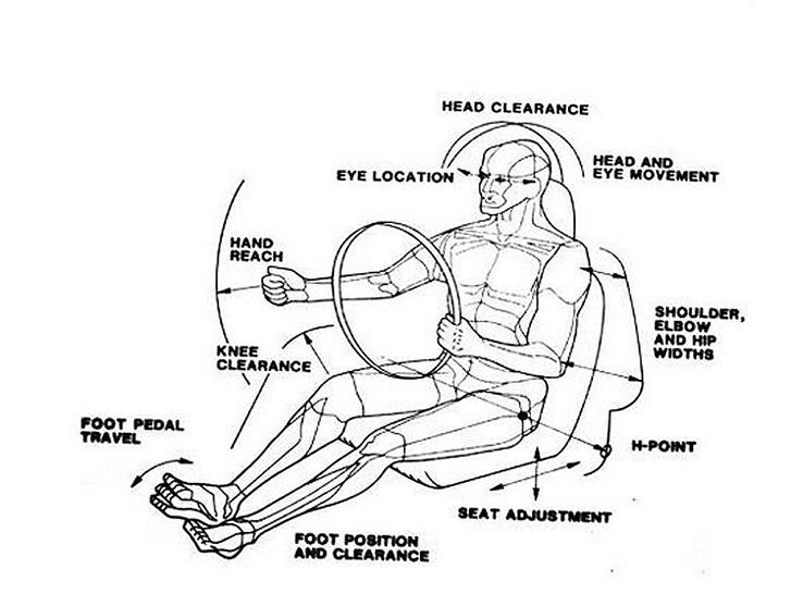 Valahogy így látnak bennünket az ergonómusok.