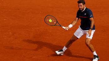 Wawrinka és Nadal is tovább menetel a Roland Garroson