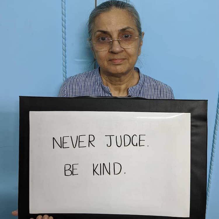 Ne ítélkezz. Legyél kedves.