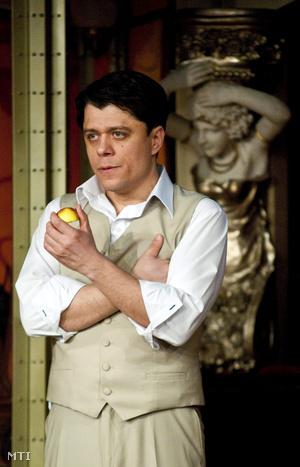 Crespo Rodrigo a győri Nemzeti Színházban 2013. február 13-án