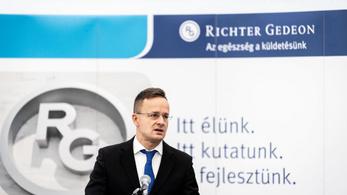 Szijjártó: 125 új munkahelyet teremt a Richter debreceni beruházása