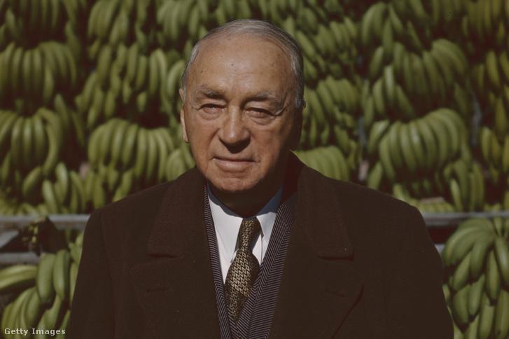Sam Zemurray New Orleansban 1951-ben