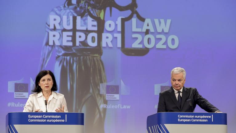 Brüsszel szerint sérül Magyarországon a jogállamiság