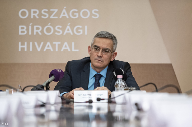 Senyei György Barna, az Országos Bírói Hivatal (OBH) elnöke