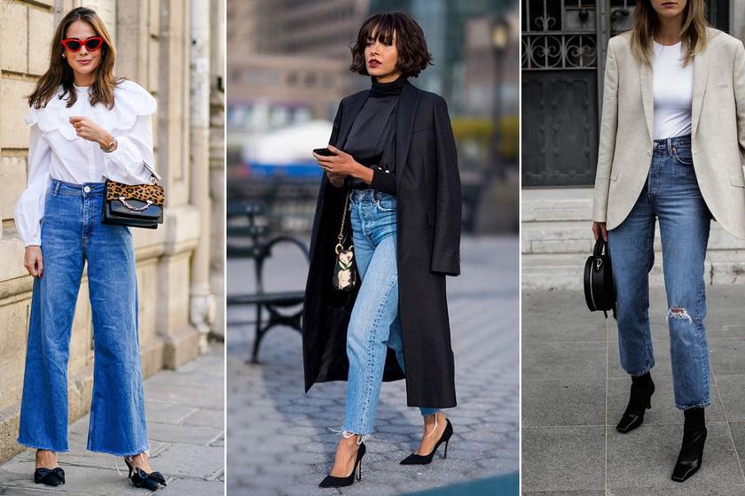 Nőies farmeros szettek az irodába: ha így viseled a nadrágot, csinos és elegáns lesz