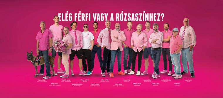 ...ahol arra buzdítják a férfiakat, hogy posztoljanak magukról olyan képet, amin valami rózsaszín vagy pink ruhadarabot viselnek, ezzel mutatva ki támogatásukat