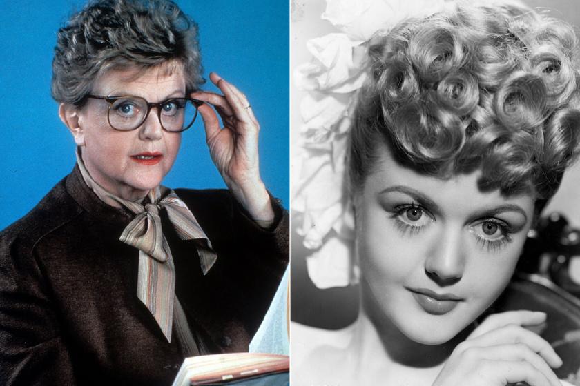 Angela Lansbury ikonikus szerepében és 1950-ben. Porcelánbaba-szépségű volt kezdő színésznőként.