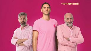 Kulka János és Varga Dániel is rózsaszínben kampányol, mert elég férfiak hozzá