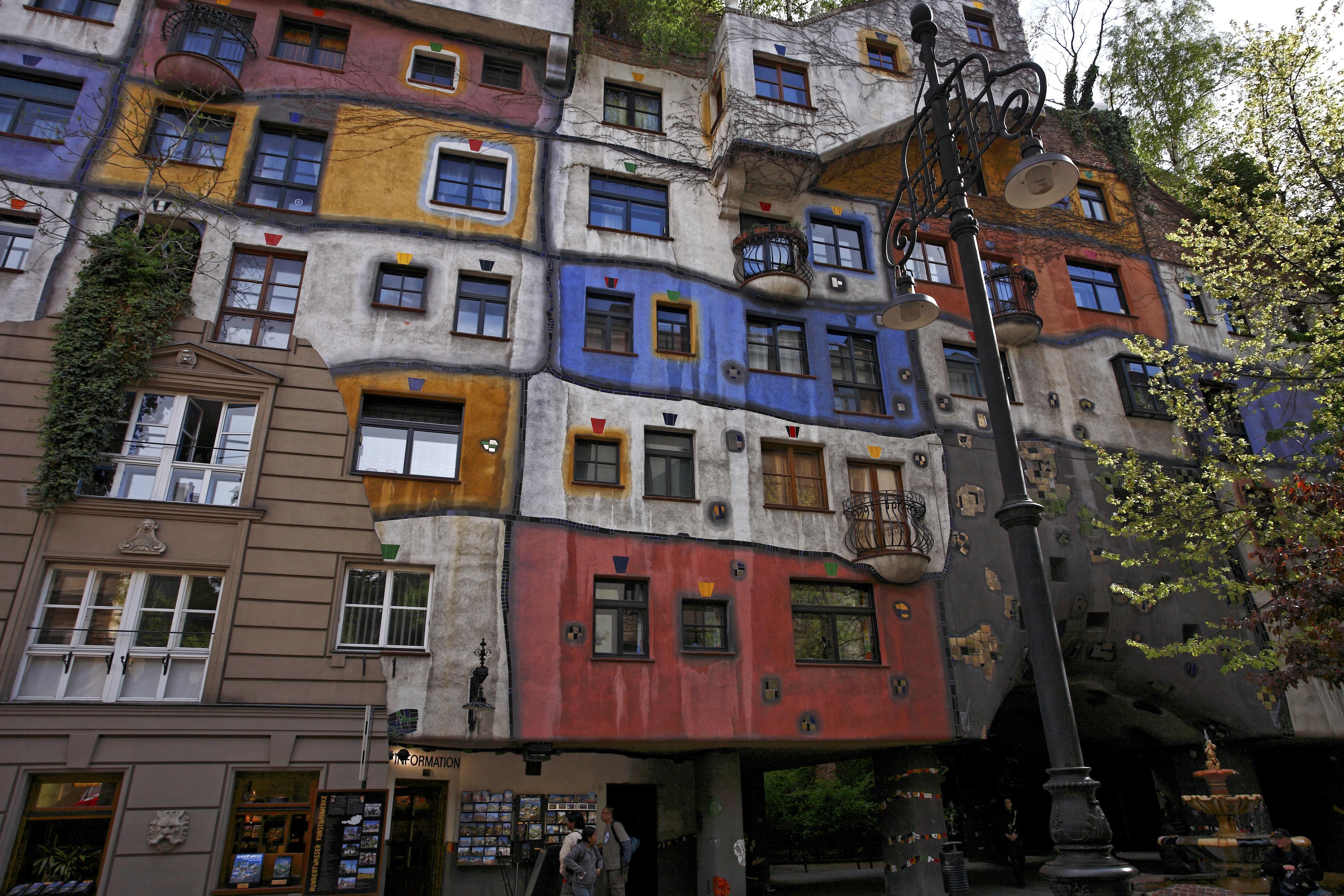 Hol található a híres Hundertwasser-ház?