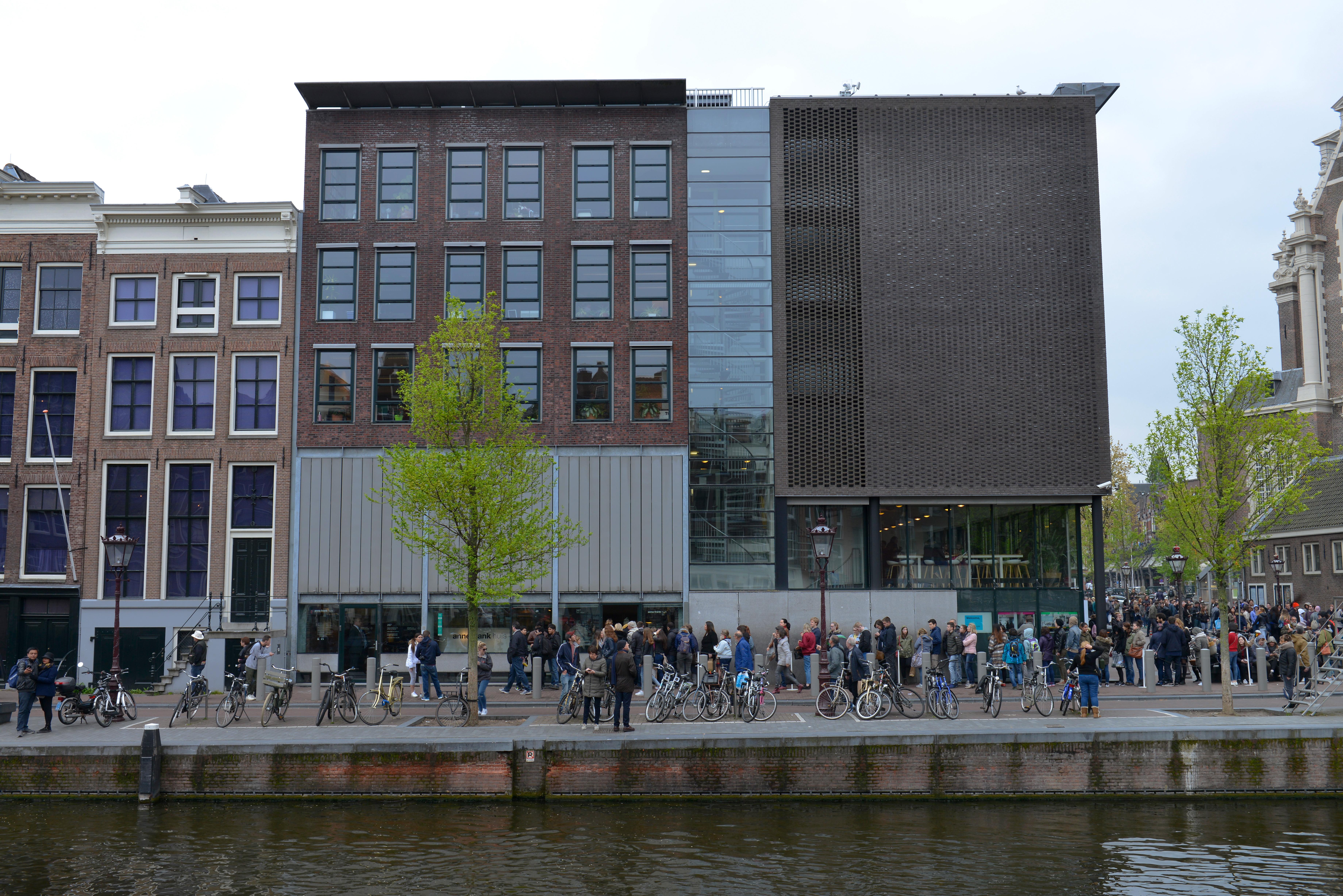 Hol található az Anne Frank-ház?