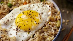 Tojásos sült rizs zöldségekkel – vacsorára tökéletes lesz