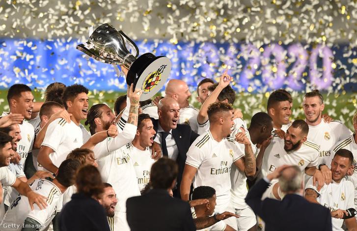 Nem lesz egyszerű dolga a Real Madridnak, ha meg akarja védeni a címét a La Ligában