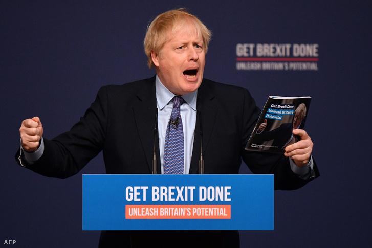 Boris Johnson a Brexit-kampányban egyenesen triádot triádra halmozott