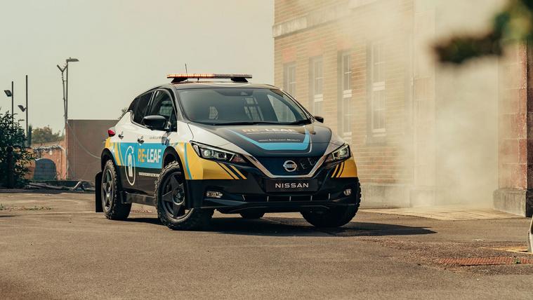 Vészhelyzetre tervezett villanyautót a Nissan