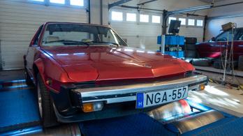 Totalcar Erőmérő: Fiat X1/9 (1981)