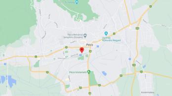 Kilencvenegy éves nőt ütött el egy busz Pécsen