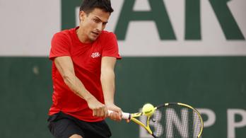Balázs Attila három szettben kikapott a Roland Garros második körében