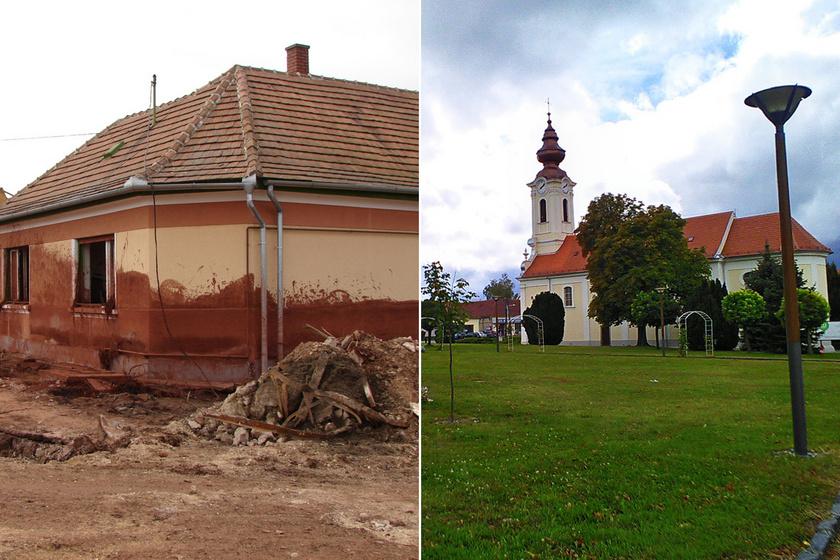 Mutatjuk, hogy néz ki ma Kolontár és Devecser: 10 éve történt a vörösiszap-katasztrófa
