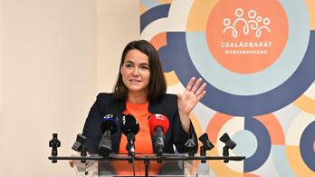 Novák Katalin: A járvány idején sem enged a családtámogatásokból a kormány