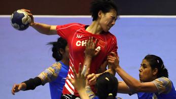 Kína visszakerült a női kézilabda olimpiai selejtező győri csoportjába
