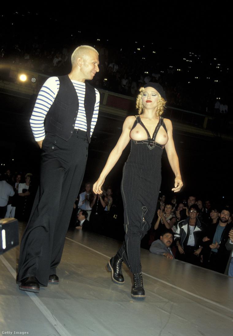 Vegyük csak Madonna 1992-es szereplését Jean Paul Gaultier oldalán