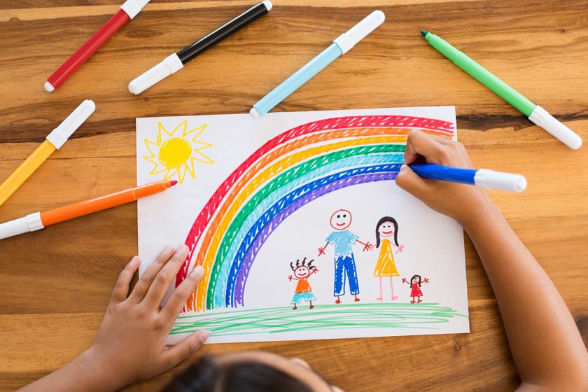 Hogyan rajzolja le a családot a gyerek? Sokat elárul a lelkiállapotáról