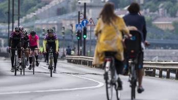 Pártállástól függetlenül egyre több ember pattan biciklire