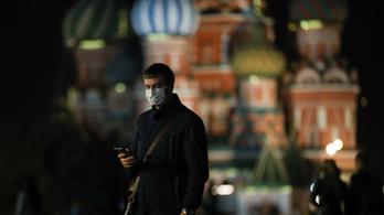 Egyre több az új koronavírusos beteg Oroszországban, de nincs szó karanténról