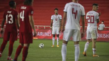 Magyar szurkolók nélkül játszik a válogatott Bulgária ellen