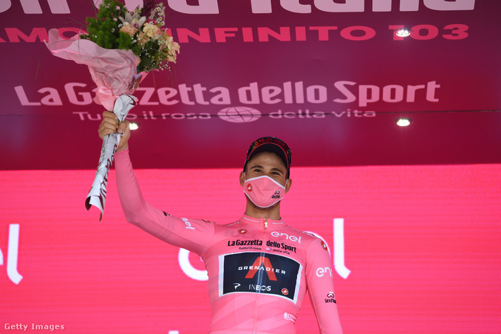 Filippo Ganna nyerte az idei Giro d'Italia nyitó szakaszát