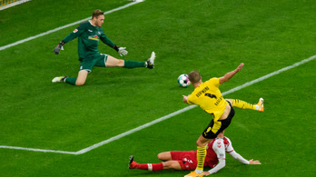 A Dortmund győzte le először Sallaiékat az idényben
