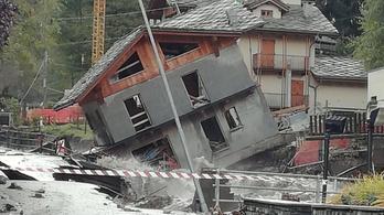 Halálos áldozatokkal járó áradás jött a francia-olasz Alpokban
