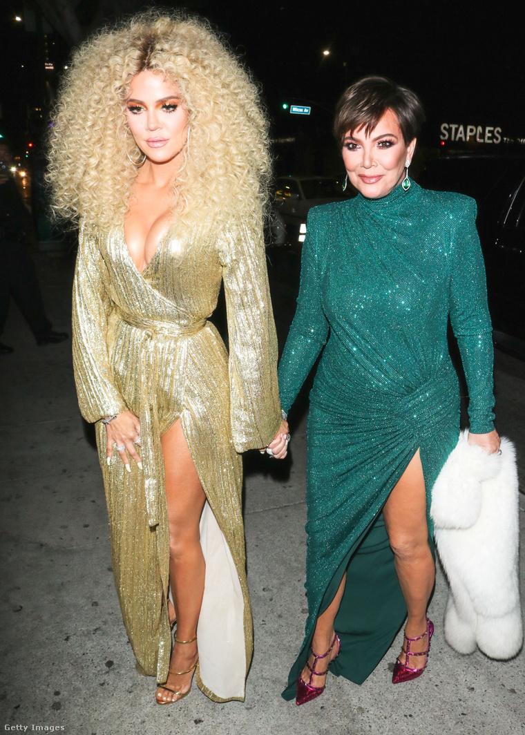 Khloé Kardashian és Kris Jenner tavaly ősszel