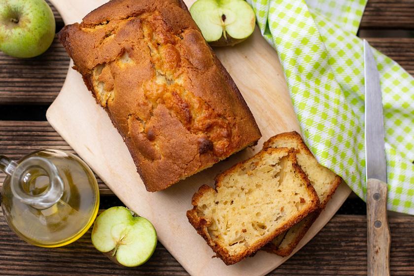 Pihe-puha, olajos almás süti: csak keverj össze mindent