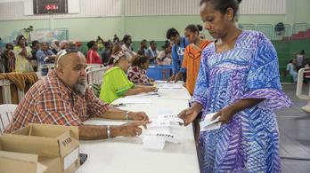 Újra leszavazták a függetlenséget Új-Kaledónián, a szigetcsoport marad Franciaország része