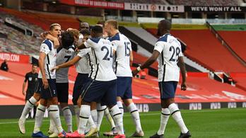 Óriási verést mért a a Tottenham a Manchester Unitedre